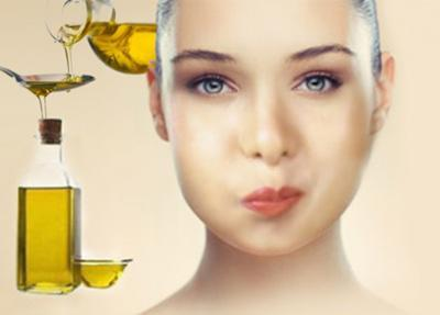 Полоскание рта оливковым маслом