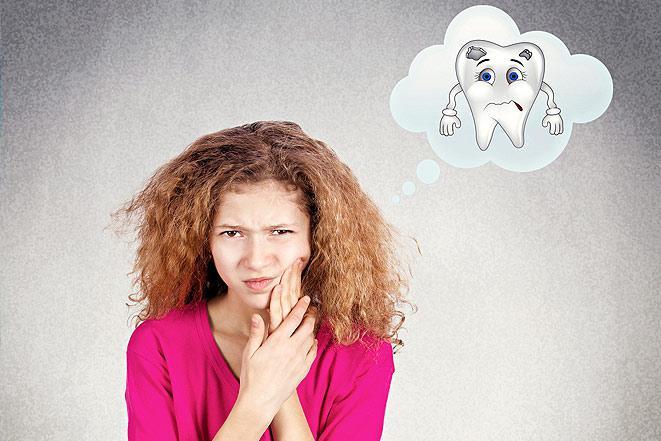 Психосоматика проблем с зубами