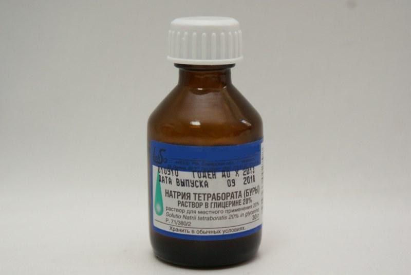Тетраборат натрия при стоматите у ребенка