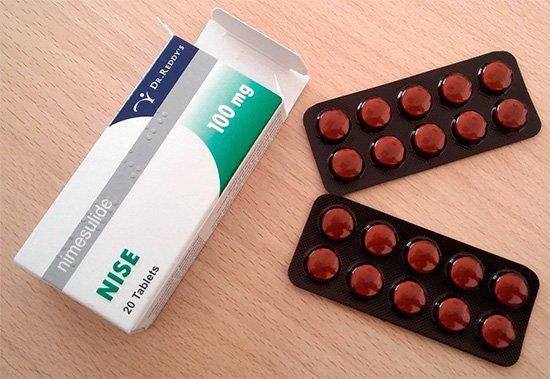 Как действуют таблетки Найз от зубной и головной боли