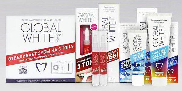 Почему отбеливание зубов системой Global White эффективно и безопасно